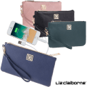 Vegan Pebble Phone Charging Wristlets w/RFID Theft Protection by Liz Claiborne