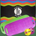 ASOTV 5-Piece Simply Fit Workout Balance Board with a Twist Bundle
