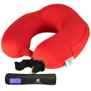TraverGo Travel Neck Pillow and Luggage Scale Combo