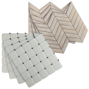 32-Pack: RoomMates StickTiles Peel and Stick Wall & Backsplash Tiles