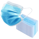 100-Pack: 3-Ply Disposable Face Masks