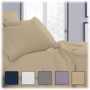 Copper Infused Deep Pockets Luxurious Sheet Sets (6-Piece)