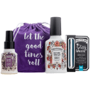Poo-Pourri 4-Piece Tropical Hibiscus Gift Set (5.4oz)