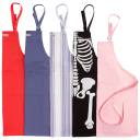 2-Pack: Williams Sonoma Designer Chef Aprons with Pockets