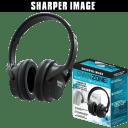 Sharper Image Own Zone Wireless TV Headphones for Private Listening