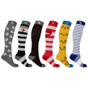 6-Pack: Extreme Fit Medical Compression Socks for Nurses and Doctors