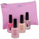 4-Piece: Julep Super Size Nail & Cuticle Treatment with Makeup Bag