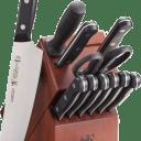 J.A. Henckels International Solution 12-Piece Knife Block Set