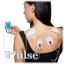 iPulse 12-Channel TENS + EMS Stimulation Unit with 10 Pads