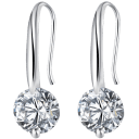 Hollywood Sensation Maryam Simulated Diamond Drop Earrings