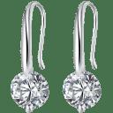Hollywood Sensation Maryam Simulated Diamond Drop Earrings