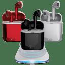 GenTek Airbuds True Wireless Charging Earbuds + Qi Charger Bundle