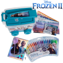 Frozen 2 Fun Bundle with Gel Pens, Trolly Set, and Sparkle Diary