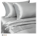 Marquis by Waterford Jennet 4 Piece Satin Sheet Set