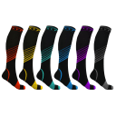 6-Pack: Extreme Fit XTF Copper Compression Socks