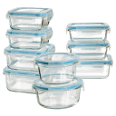 Diamond Home 18 Piece Glass Container Set