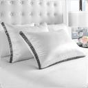 2-Pack: Restorology Genius Pillow Cooling Gel Fiber Pillow with Sateen Gusset