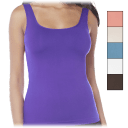 Seamless Tank with Built-In Shelf Bra