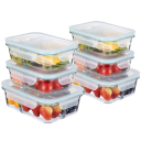 Masions 12-Piece Glass Food Storage with Dividers