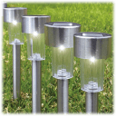 12-Pack: Eternal Living Premium Solar Pathway Lights