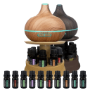 Pure Daily Care Ultimate Aromatherapy Diffuser with 10 Oils and Stand