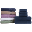 Nottingham Creekside or Parkwood 6-Piece Luxury Cotton Towel Sets