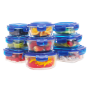 Coccot 9-Pack Glass Food Storage Set