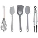 """Cook with Color 5-Piece 8"""" Length Utensil Set"""