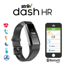 Striiv Dash HR Waterproof Smartwatch with Continuous Heart Rate Tracking & More