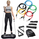 Rock Solid Fitness Whole Body Vibration Machine with BONUS Resistance Bands