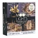 Darice Moon Lights 60ct White Twinkling With Black Wire (10ft)