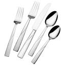 International Silver 51-Piece Stainless Steel Loring Collection