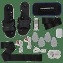 IQ Massager Pro IV TENS/EMS Unit with Accessory Bundle