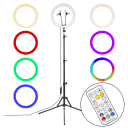 "Vivitar 12"" Selfie Ring Light Kit with Selfie Remote"