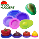 10-Pack Farberware Food Huggers Reusable Silicone Food Savers