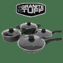 Granite Tuff 8-Piece Nonstick Cookware Set