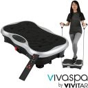 Vivaspa Whole Body Vibration Machine w/Bluetooth Speaker & Resistance Bands