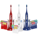 Pursonic S430 Sonic Toothbrush with 12 Brush Heads
