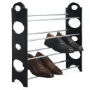 2-Pack: 4-Tier Shoe Rack
