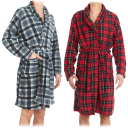 2-Pack: Nextex Men's Flannel Robes