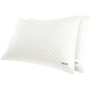 2-Pack: Bed & Brand NapYou Shredded Memory Foam Pillows