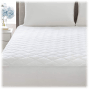 Lux Decor Collection Quilted Fitted Mattress Pad
