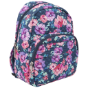 Travelon Anti-Theft Quilted Boho Backpack in Blossom Floral