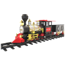 MOTA Holiday Toy Train Set with Smoke & Sounds