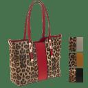 La Terre Fashion Leopard Print Tote (Large)