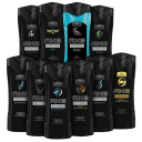 10-Pack: AXE Shower Gel / Body Wash 8.45 oz - Assorted Scents